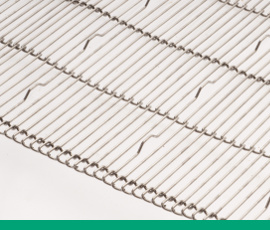 Photo featuring Twentebelt wire mesh belts overview