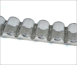 Bandas transportadoras especiales - Concave