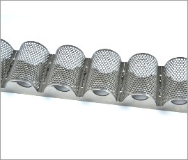 Special conveyor belt - Concave