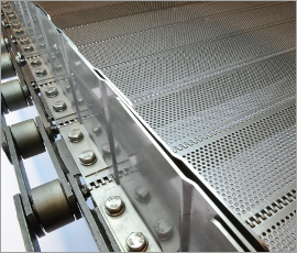 Special conveyor belt - Plate belt