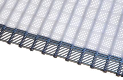 Photo featuring Twentebelt special conveyor belts filter plate