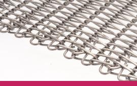 Photo spiral wirelink belt