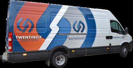 Photo featuring Twentebelt service van