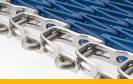Photo TwenteFlex conveyor belt with plastic overlay