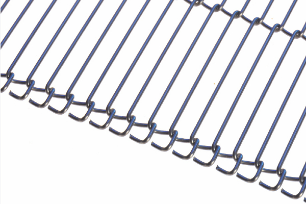 Photo featuring Twentebelt wire mesh conveyor belts type GR-SK
