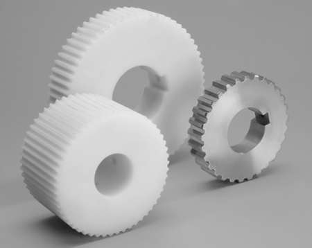 Photo featuring wire mesh belts sprockets